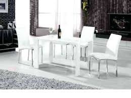 small white dining table and chairs chairs unique design high gloss dining table pretentious ideas white