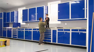 garage cabinet design plans. Wonderful Garage The Garage Cabinet Design For You Storage  Blue  Ideas With Yellow Stairs In Plans I