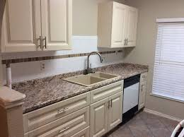 image of cream cabinets with glaze