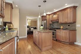Kitchen Colors With Light Wood Cabinets Cool Decoration