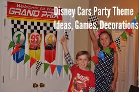 Cars Party Decorations How To Throw A Disney Cars Themed Birthday Party