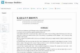 Resume Builder From Linkedin Custom Linkedin Resume Builder 44 Mesmerizing Linkedin Resume Builder