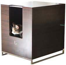 Wooden Litter Box Cabinets Think Outside The Box With These Litter Boxes Disguised As