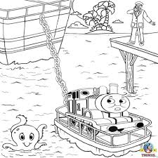 Rescue Thomas The Train Coloring Pages