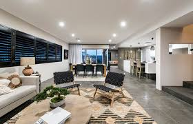 free form living room the rawson in vogue display modern living room perth
