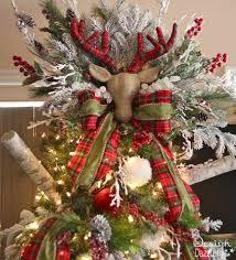 diy tree topper diy reindeer antlers tree topper diy tree topper ideas just made one diy tree topper