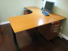 chic l shaped computer desk ikea amazing corner l shaped desk ikea designing l shaped desk