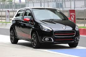new car launches by fiat2015 Fiat Abarth Punto Launches in India with 145 HP Turbo4