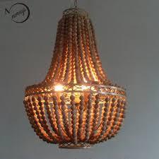 vintage rustic hanging wooden beads pendant lampworld market large wood lampshabby chic world market light w38