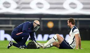 Harry Kane suffers ankle injuries in massive blow for Tottenham as striker  is taken off at half-time against Liverpool