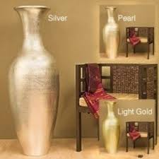 Small Picture Silver Floor Vase Foter