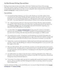 Resume Writing Services Nyc Resume Writer Finance Resume Writing