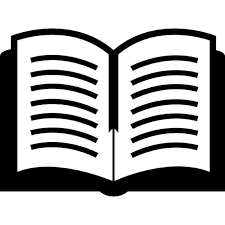 open book top view free icon