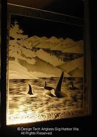 etched glass windows houzz