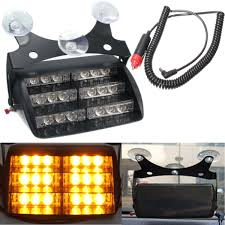 Led Warning Lights For Trucks Car 18 Led Yellow Warning Light Flashing Strobe Emergency Lamp Amber Truck Suv