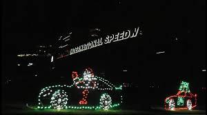 Christmas Light Displays Daytona Beach Daytona International Speedways Magic Of Lights Brings New