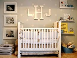 Baby Nursery Decor, Classic Spectacular Baby Interiors For Nurseries Simple  Stars White Wooden Brown Floor
