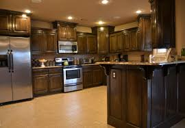 kitchens with dark brown cabinets. Full Size Of Kitchen:kitchen Ideas Dark Brown Cabinets Backsplash Country Small Plan Wood Minecraft Kitchens With