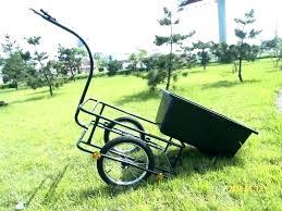 garden cart yard wagon carts at plastic bicycle trailer black two wheel state plaza amc theatres antiqu