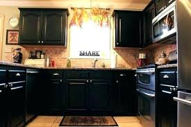 painted kitchen cabinets with black appliances. Black Painted Kitchen Cabinet Cabinets Unique Tags With Appliances T