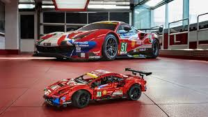 Ferrari's 488 gte af corse #51 has brought home trophies in a number of challenging endurance races. Lego Technic Ferrari 488 Gte Af Corse Kit Announced Autoblog