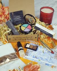 this season s fall 2018 vegan cuts makeup box included 4 full size vegan makeup s and a bonus beauty tool the total value of this quarter s box is