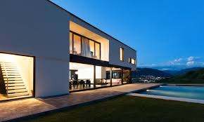 how to design a smart home. Modern House At Night_shutterstock_146068007 How To Design A Smart Home
