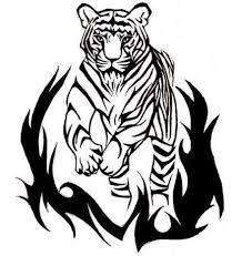 Tetovací Tygři Starověké Víry A Moderní Náčrtky