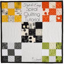 Spiral Quilting with a Walking Foot - The Seasoned Homemaker &  Adamdwight.com