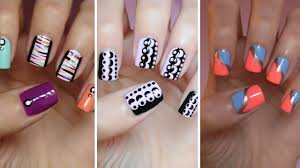 Easy Nail Art For Beginners!!! #7 - YouTube