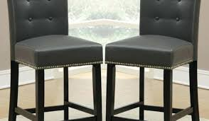 leather counter stools with backs