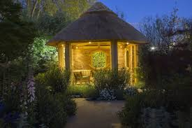 summer house lighting. Outdoor Garden Lights In Summerhouse Summer House Lighting E