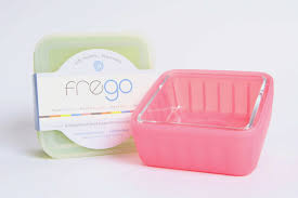 frego glass food storage container at