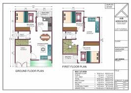 duplex house plans for 20x40 site east facing decorations