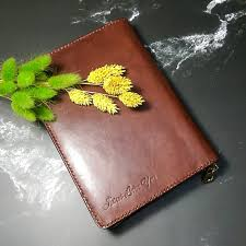 leather book cover book designer goshen leather makerspaces book covers i