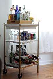 IKEA bar cart hack  Randi with an i