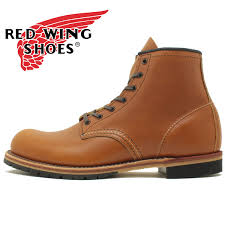 redwing red wing rw9013 beckman boots round toe chestnut