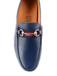 web and horsebit driver loafers gucci