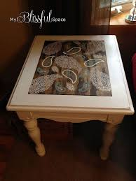 glass coffee table makeover 84 best side table redo images on