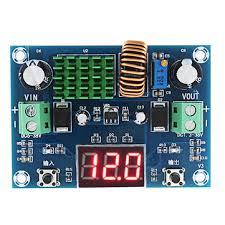 <b>Dc</b>-<b>dc xl4015 adjustable</b> 5v 12v 5a regulator m291 digital display ...