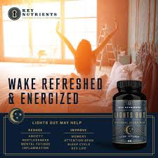 Lights Out Sleep Allmax Review Natural Sleep Aid Lights Out Contains Melatonin Valerian Passion Flower More 60 Sleeping Pills Veggie Capsules Non Habit Forming Sleep