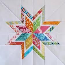 10 FREE Scrap-Busting Quilt Block Tutorials - Quilting Gallery ... & Lone Starburst Paper Piecing Templates Adamdwight.com