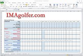 Entry Level Resume Templates Free Golf Scorecard Template Free Best Golf Template Gallery Entry 77