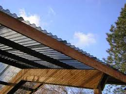 how to install corrugated plastic roofing images