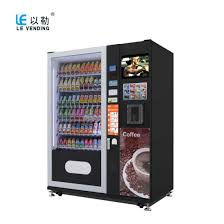 Chinese Vending Machines Magnificent China Lower Price Cold Drink Snack And Coffee Vending Machine LV