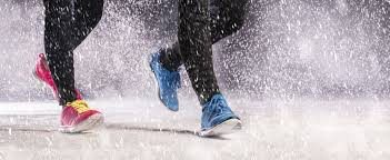 Image result for snow and running tracks