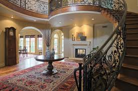 furniture for the foyer. upscale foyer entry with elegant decor and furniture for the