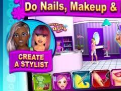 sunnyville salon game play free hair nail make up games 3 7 screenshot