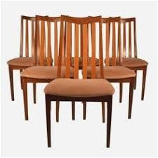 modern upholstered dining chairs new design 6 teak dining chairs erik buck danish modern od mobler