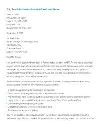 Examples Of Administrative Assistant Resumes Sample Art Gallery Assistant Cover Letter Administrative Assistant